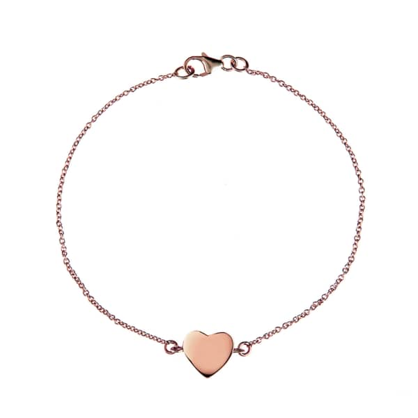 Cosmic Heart Bracelet Rosegold