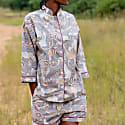 Short Safari Pyjamas in Rhino Grey image
