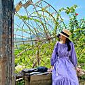 Coriander Amethyst Maxi Dress image
