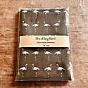 Flamingo Tea Towel Olive image