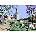 Clissold Park Stoke Newington Art Print image