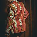 Womens Oversized Blazer Peranakan image