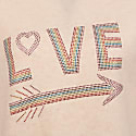 Love Knitted Sweatshirt Oatmeal image