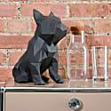 French Bulldog Geometric Sculpture Frank in Graphite image
