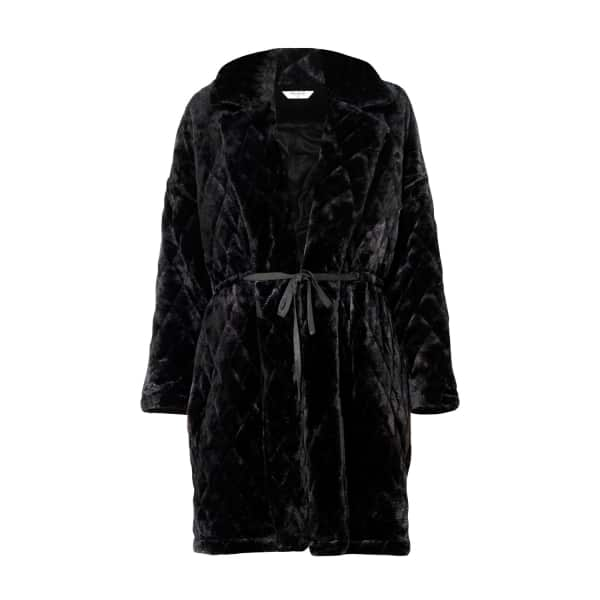 Quilted Fur Coat