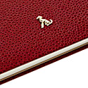 A5 Hard Cover Hardy Notebook The Rollo Collection Burgundy - Gold Page Edges image