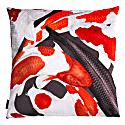 Koi I Large Velvet Floor Cushion Cover Style Two image