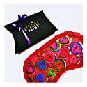 Lovehearts Silk Eye Mask In Gift Box image