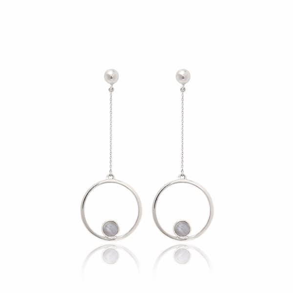 Aurelie Agate Earrings