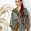 Viscose Kimono Wrap Blouse Massami image