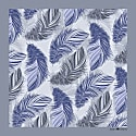 The Feather Pocket Square Powder Blue image