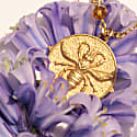 9Ct Gold Egyptian Bee Necklace image