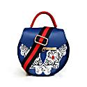 Royal Blue Tiger Crossbody Bag image