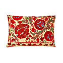 Colosseum Sunset Suzani Ikat Double Sided Heritage Design Cushion image