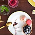 Trapeze Girl Dessert Plate image