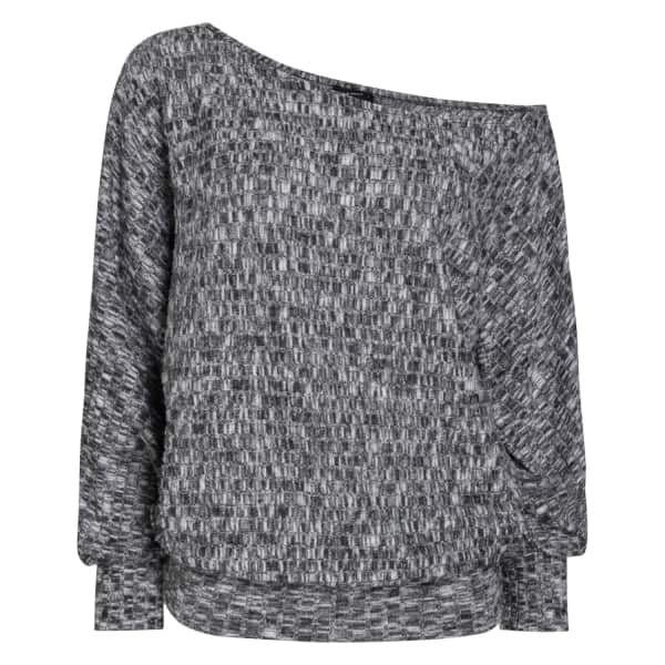 PEPPER & MAYNE Grace Off Shoulder Sweater