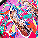 Laptop Case - Psychedelic Leopards image