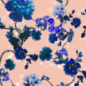 Mildred shirt in Gothic Floral Blues print image