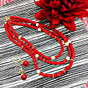 Corals & Freshwater Triple Strands Necklace image