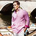Pink Kabisa Tabaka Cotton Shirt image