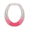 Purls Necklace Neon Pink image