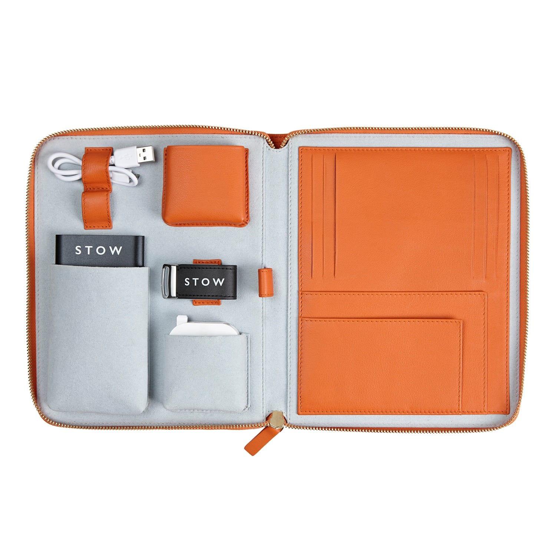 ámbar de Naranja negro internacional Estuche de y viaje de primera Usb con clase Powerbank tecnología 48WEqwzEnf
