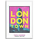 Tate Modern London Town Series A3 Print image