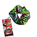 Silk Scrunchie - 80S Flower image