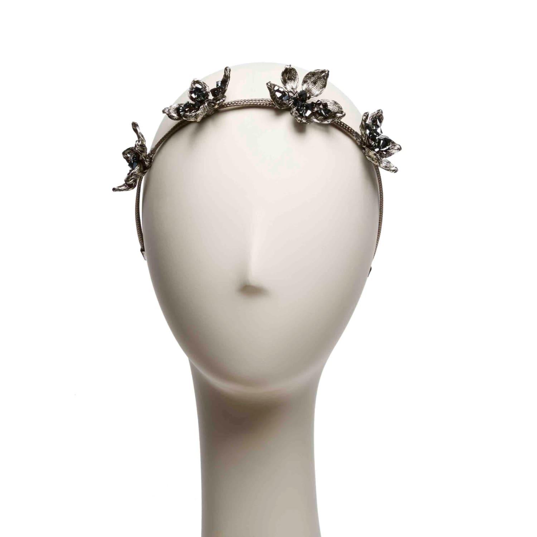 Mesh wildflower crown colette malouf wolf badger mesh wildflower crown image izmirmasajfo