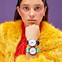 Ksana Turquoise Vegan Watch - 38mm image
