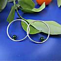 Inverse Earrings Green Jade image