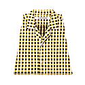 Yukata Shirt Yellow White & Black image
