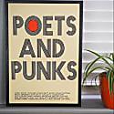 Poets & Punks Art Print image