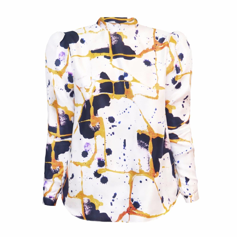 1c73b554fe32c0 Hanna Silk Shirt Kintsugi image