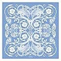 The Baroque Pocket Square Sky Blue image