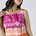 Multicoloured Empire Line Dress image