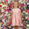Rosie Pink Embroidered Dress image