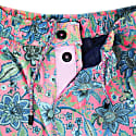 Quack Swim Short In Floral Canvas Pink image