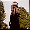 3 In 1 Trench Coat Made From Artisan Donegal Tweed & Contrast Black 100% Heavy Melton Wool image