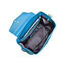 The Professional Leather Backpack Purse In Blue image