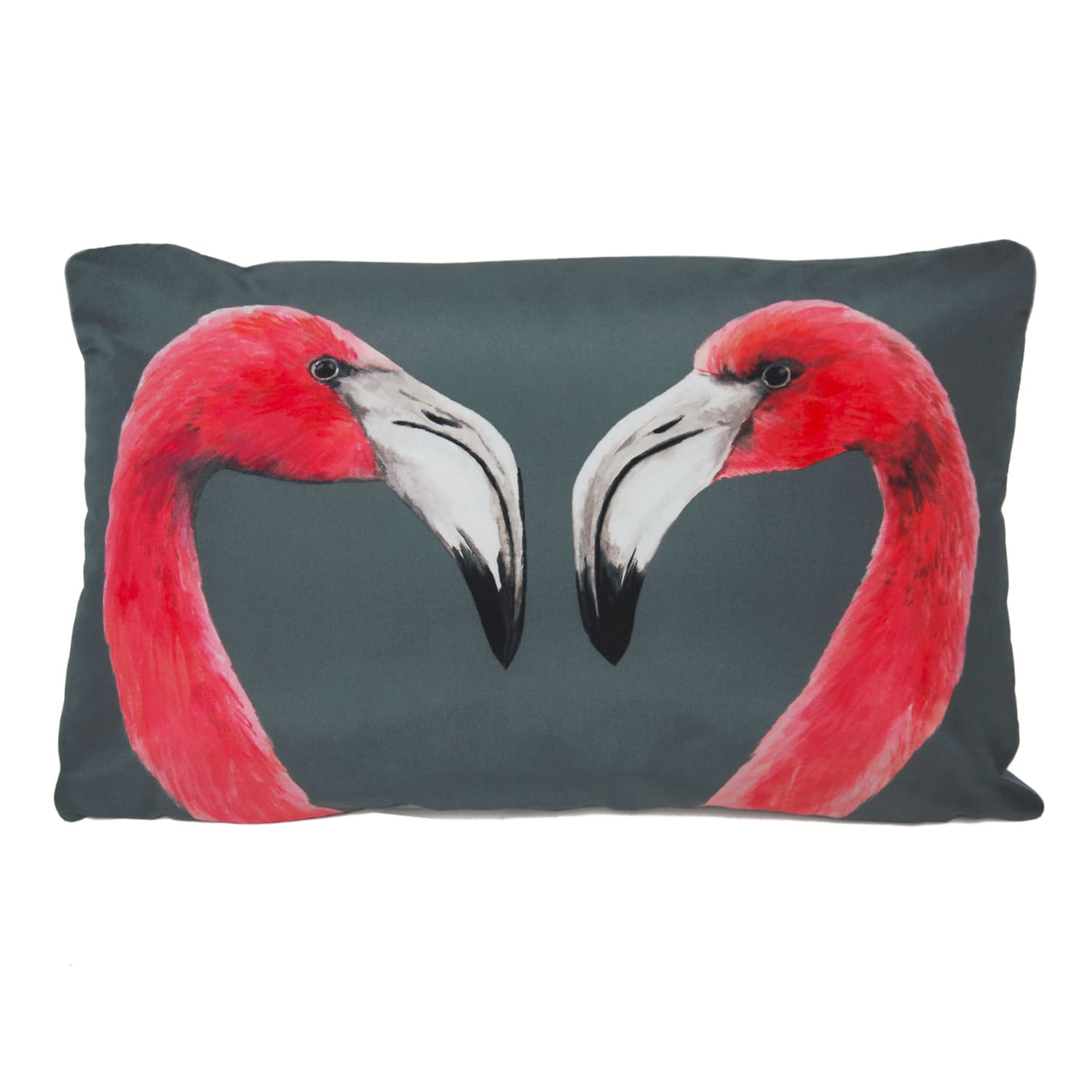 flamingos cushion katie the wolf wolf badger. Black Bedroom Furniture Sets. Home Design Ideas