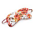 Silk Sleep Mask In Wild Rose image