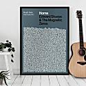 Home - Song Lyric Print image