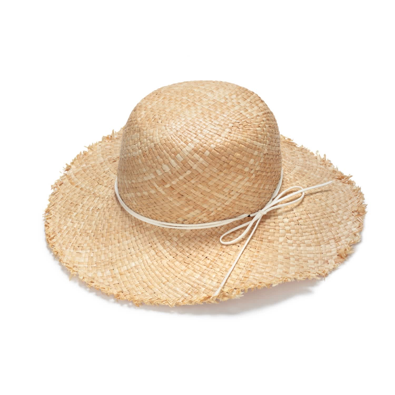 05688cd2c Boho Wide Brim Straw Hat by Justine Hats
