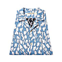 Yukata Shirt Sky Blue and White image