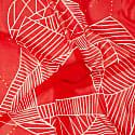 Cherry Blush Red Silk Scarf image