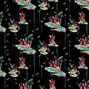Lily Night Silk Kimono image