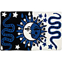 Sol Y Luna Cushion Blue image