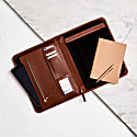 Luxe Tan Leather Document Holder image