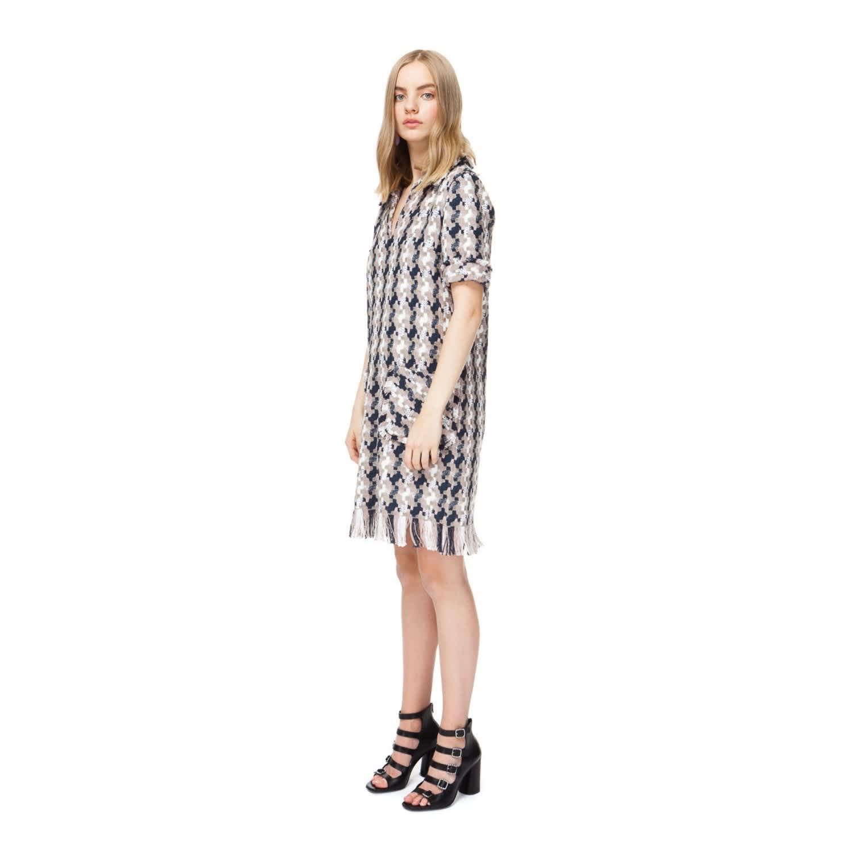 f33ca7d1e6cc Hailey Raw Edge Tweed Dress | DIANA ARNO | Wolf & Badger